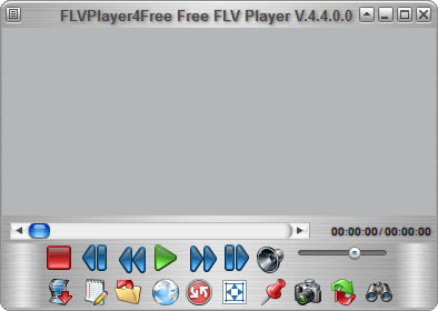 MP4 Player - FLVPlayer4Free Main Window